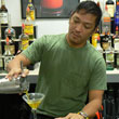 American Bartenders School Student Making Drinks