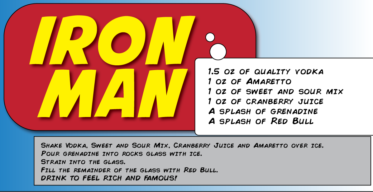 iron man cocktail