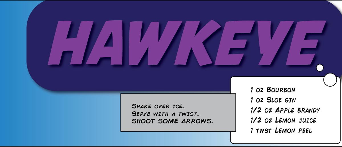hawkeye cocktail