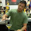 American Bartenders School Student Making Drinks