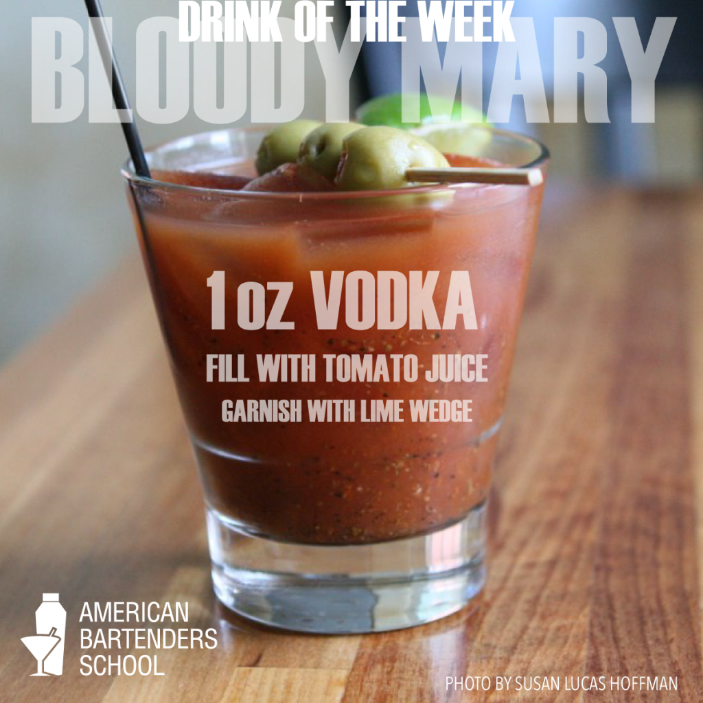 barschool drink of the week bloody mary