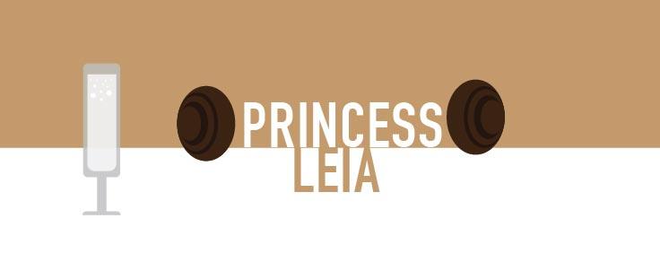 princess leia star wars cocktails